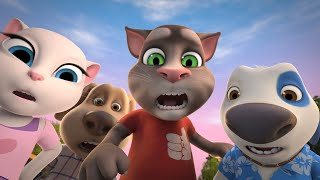 The Great Taxi Race - Talking Tom and Friends | Season 4 Episode 7