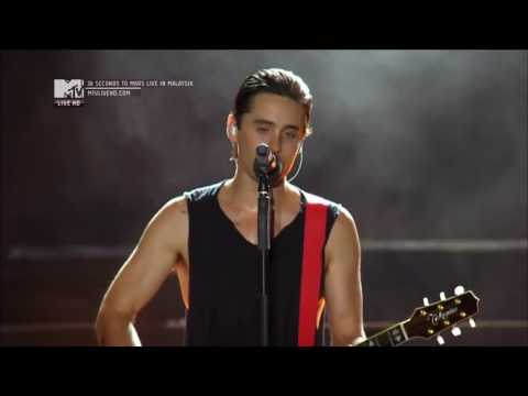 Thirty Seconds to Mars - Hurricane (Live In Malaysia 2011)