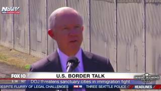 JEFF SESSIONS: It's Not Racist To Kick Out Illegal Immigrants (FNN) Free HD Video