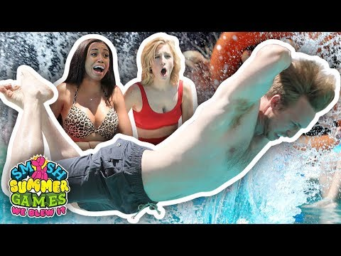 ULTIMATE BELLY FLOP CONTEST FINALE (Smosh Summer Games)