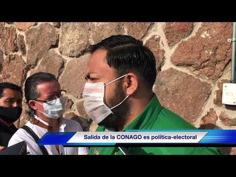Salida de Gobernadores de la CONAGO, es política-electoral: Gabino Morales