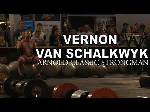 VERNON VAN SCHALKWYK - Arnold Classic Australia Strongman 2017