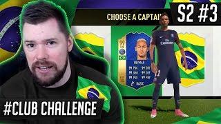 THE BRAZIL NATIONAL TEAM DRAFT CHALLENGE!! - FIFA 17