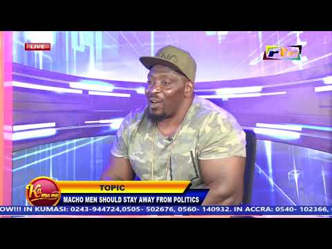 Kumasi Notorious M@Ch0 man storm Rtv to beat OTWINOKO....Because of Politics...