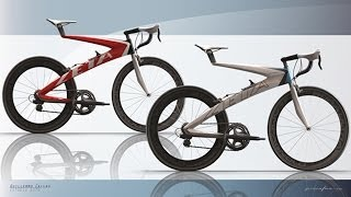 Pininfarina Bicycle Concept By Guillermo Callau