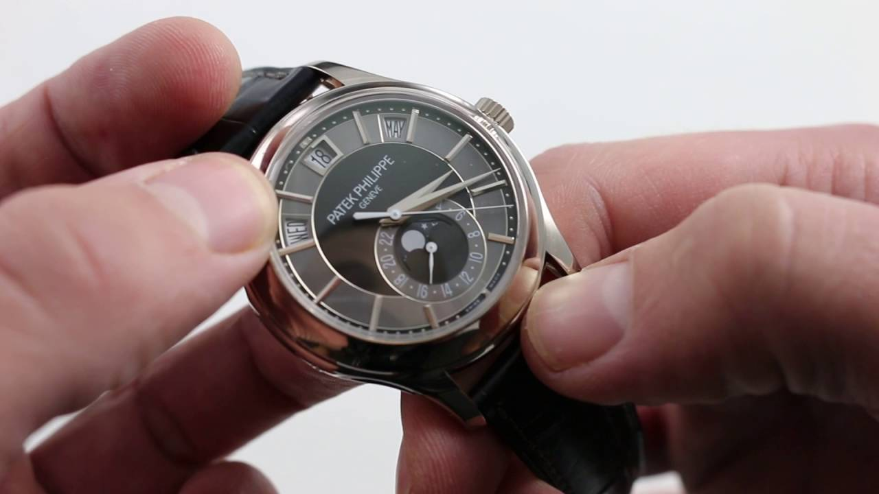 Patek Philippe Annual Calendar 5205g Luxury Watch Review