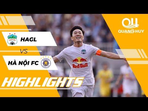 Highlights | HAGL – Hà Nội FC | Vòng 10 V.League 2021 | BLV Quang Huy