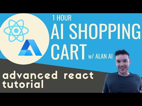 Build an AI POWERED SHOPPING CART in React w/ Alan AI