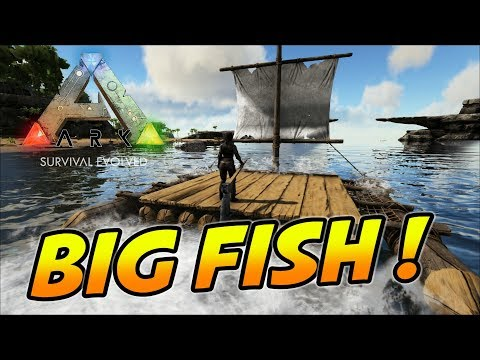 ARK: Survival Evolved - BIG MEAN FISH (ARK Ragnarok Map Gameplay)