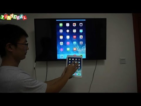 airplay mirror for android Android TV box with airplay mirror, miracast, test with iPad Air  airplay mirror for android