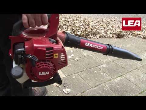 LEA powerfull hand held petrol leaf blower with vacuum and shredder function