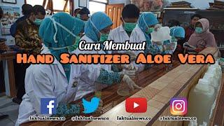 Cara membuat hand sanitizer aloe vera ...