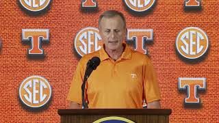 Rick Barnes - Tennessee HC (SEC Basketball Media Day '18)