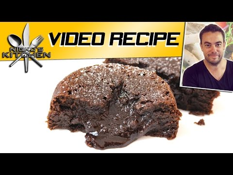 Chocolate Lava Cakes | Nicko's Kitchen