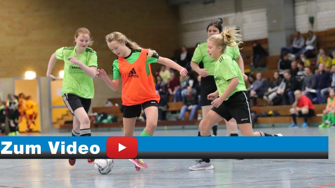 Kreis Berg U15 Madchen Fussball Hallenkreispokal 2018 Video Michael Kleinjung