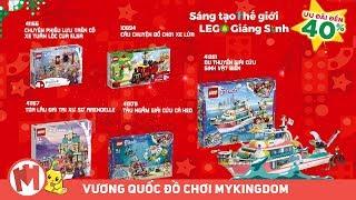 QUẢNG CÁO SÁNG TẠO THẾ GIỚI LEGO GIÁNG SINH CHO BÉ GÁI – SỞ HỮU NGAY TOP 10 MÓN QUÀ LEGO