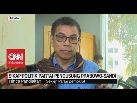 Sikap Politik Partai Pengusung Prabowo-Sandi