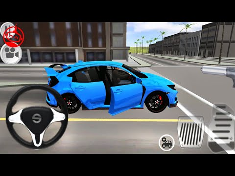 Typer Driving Simulator: Honda Civic Primay Paints to Kids Games | Android GamePlay [FHD]