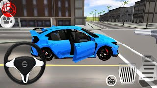 Typer Driving Simulator: #1 Honda Civic Primary Paints to Kids Games | Android GamePlay [FHD]