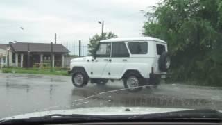 Приморский край.с.Михайловка затопление,после дождей 07.08.2017