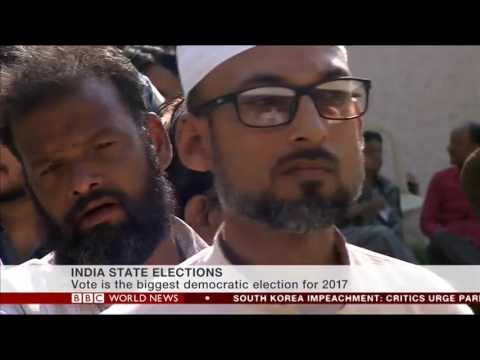 Vinod Sharma (HT Political Editor ) on BBC World News on the Assembly polls-2017