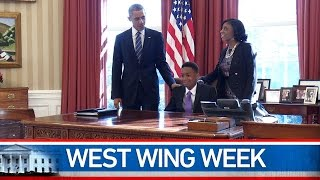 "West Wing Week: 02/06/15 or, ""To All the DREAMers"""