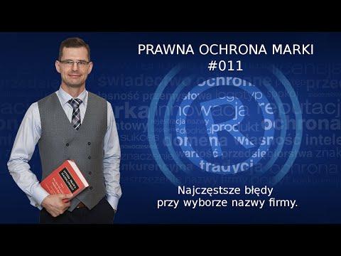 Podcast #011 - Najczęstsze błędy przy wyborze nazwy firmy. - Jak wybrać nazwę firmy - Mikołaj Lech