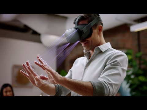 Oculus Quest - Hand Tracking Demo