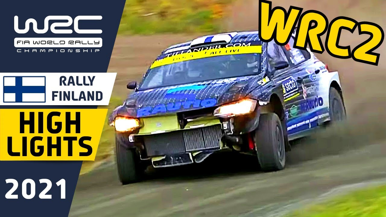 WRC2 Rally Highlights : Secto Rally Finland 2021 with Oliver Solberg Crash!