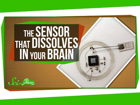 The Sensor That Dissolves in Your Brain