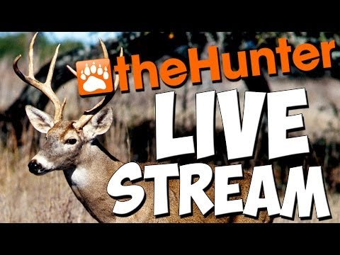 LIVESTREAM (ENDED)  - theHunter 2016 PC Gameplay w/leeroy & friends