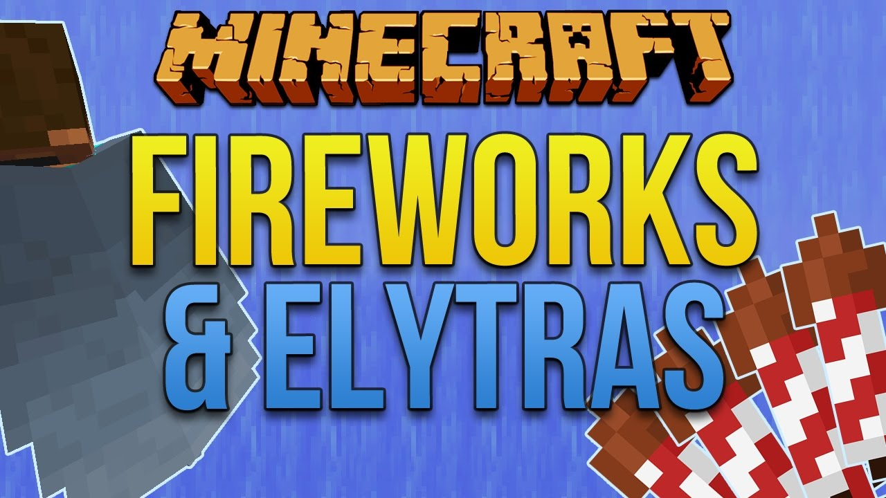 Firework Rockets & Elytra [Minecraft Myth Busting 12]