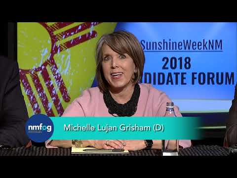 2018 New Mexico Gubernatorial Candidate Forum.