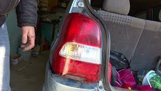 Фото Замена лампочек в заднем фонаре на Mazda Demio