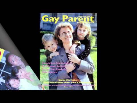 A visual history of Gay Parent magazine, first 5 years 1998 - 2003 cover portraits