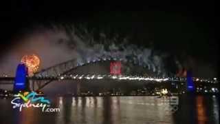 Новый год в Сиднее, Австралия: новогодний салют, видео