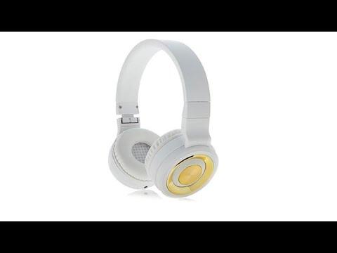 Sharper Image Onear Wireless Headphones Wvoucher Youtube