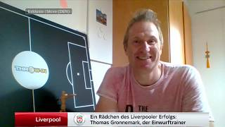 A Wheel in The Liverpool Success Thomas Gronnemark The Throw in Coach Sky Sports Germany