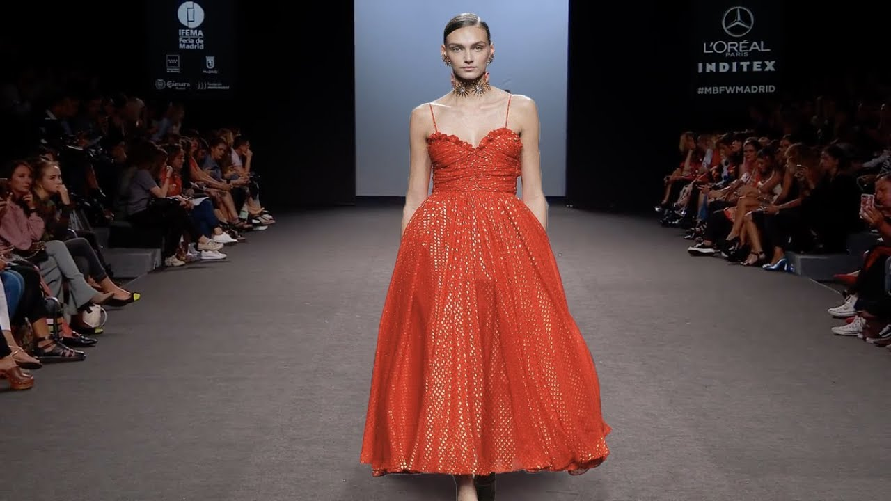 Maria Escote| Primavera Verano 2018 | Mercedes-Benz Fashion Week Madrid