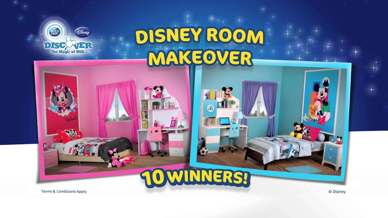 WIN a Disney Room Makeover Dutch Lady Milk