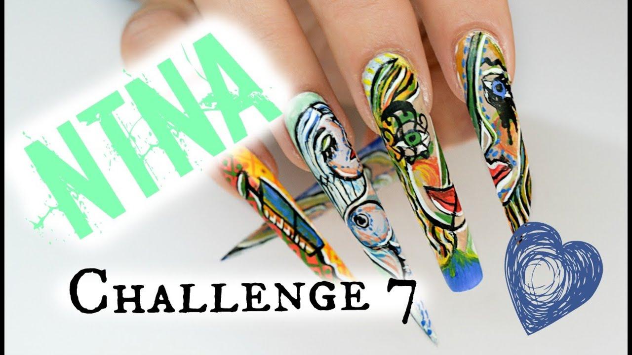Ntna Nails Next Top Nail Artist Challenge 7 China Glaze