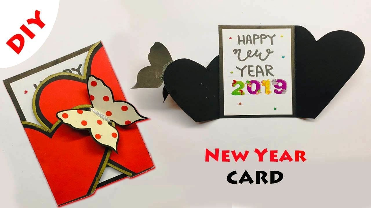 Greeting Cards Latest Design Handmade Diy Happy New Year Card