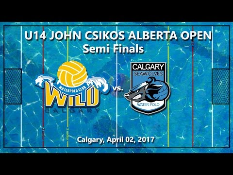 Wild  - Seawolves, U14 Alberta Open Semi Finals