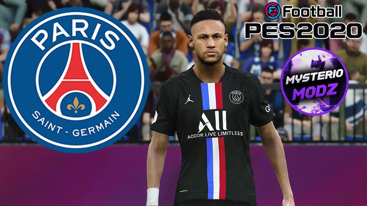 Download Fourth Kit Psg 2020 Efootball Pes 2020 Ps4 Pc Youtube