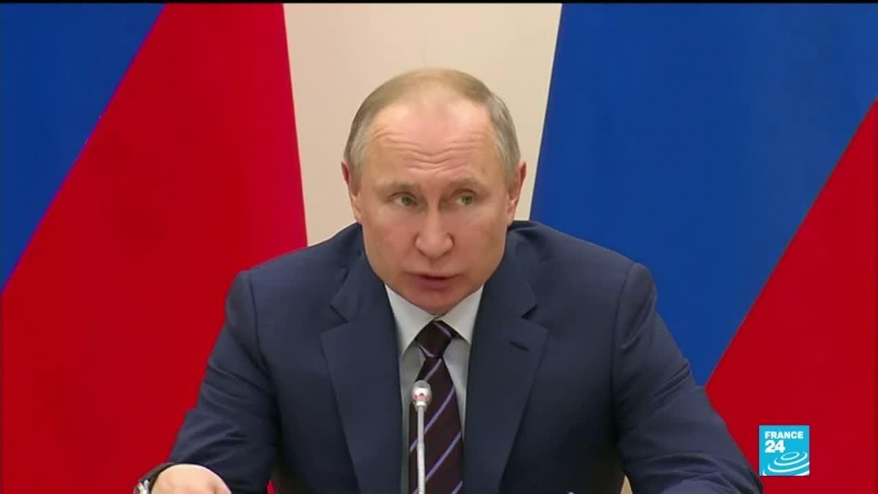 En Rusia se abre puerta para ampliar el mandato de Vladímir Putin hasta 2036