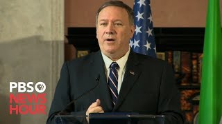 WATCH: Pompeo says he was on the Trump-Ukraine call