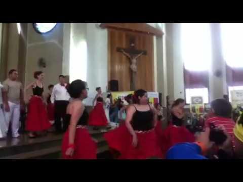 Baile Cultural de Puerto Rico... JMJ RIO 2013... Sao Paulo