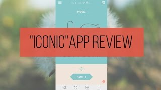 App Review: Iconic | SoleilTech