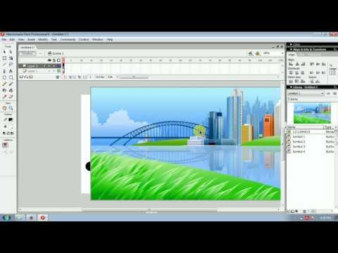 Tutorial Membuat Media Pembelajaran Sekolah Dasar Dengan Macromedia Flash 8