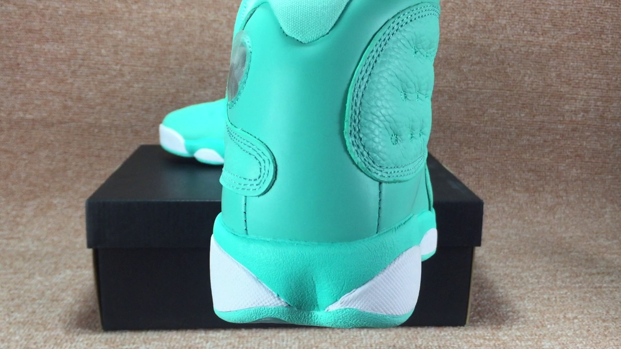 competitive price 2f98c 54490 air jordan 13 MINT GREEN GS size from flightvip.cn
